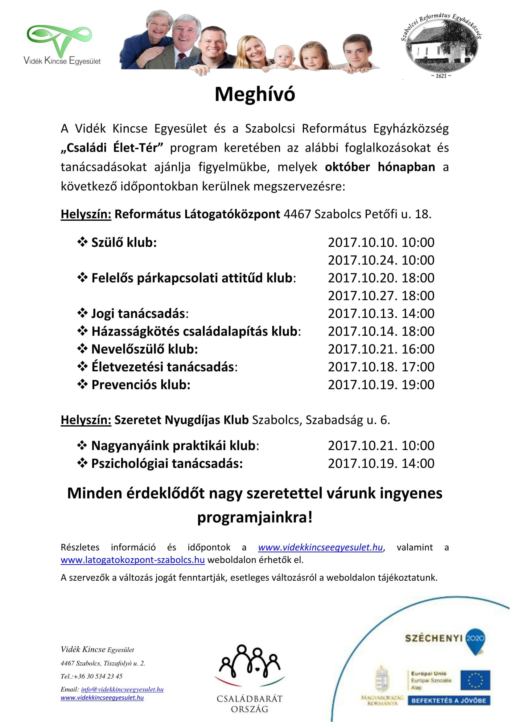 Meghívó Szabolcs október-1