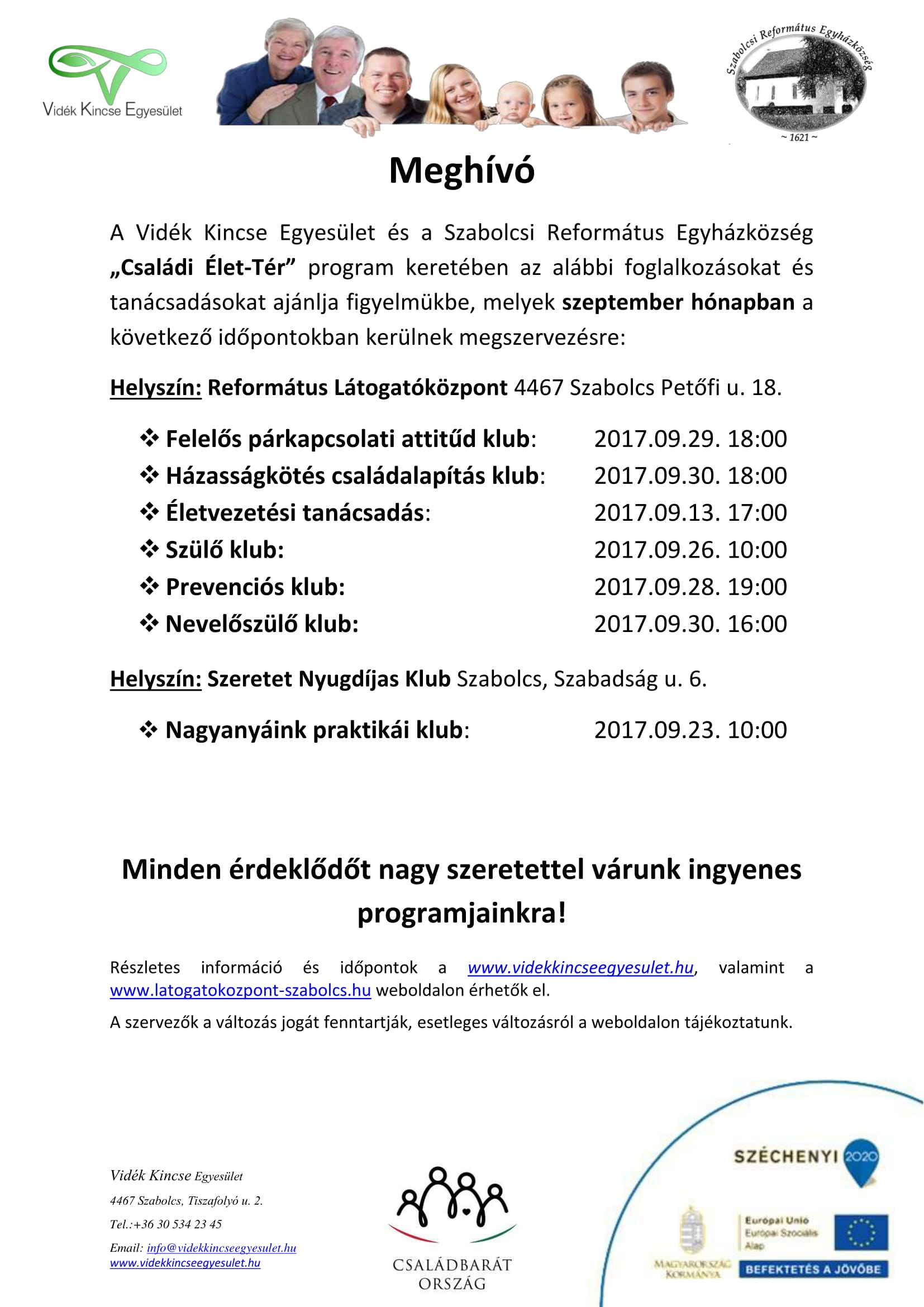 Meghívó Szabolcs szeptember-1